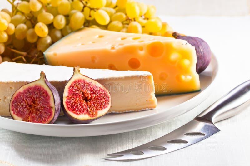 乳酪用果子 图库摄影