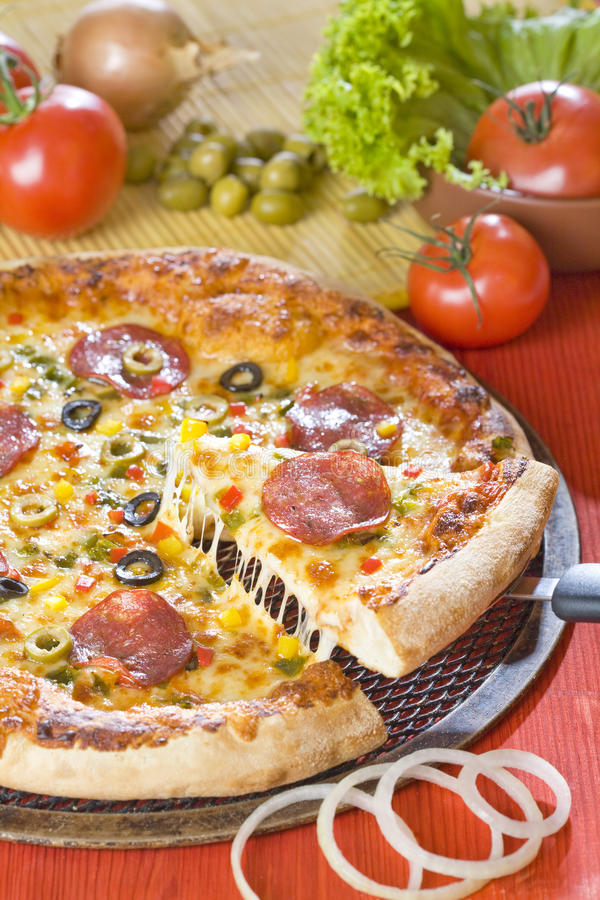 乳酪薄饼 免版税库存照片
