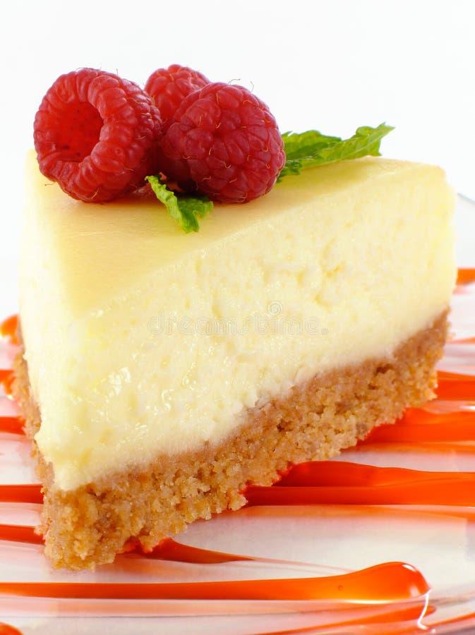 乳酪蛋糕莓 免版税库存照片