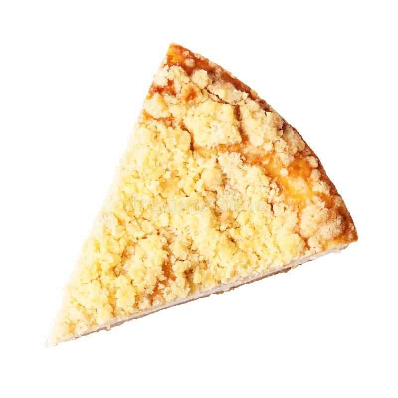 乳酪蛋糕部分 免版税库存照片