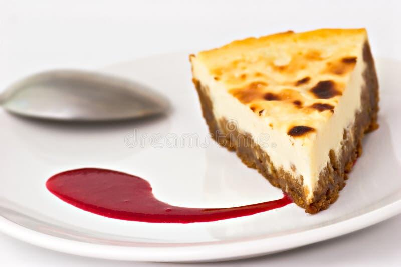 乳酪蛋糕 免版税库存照片