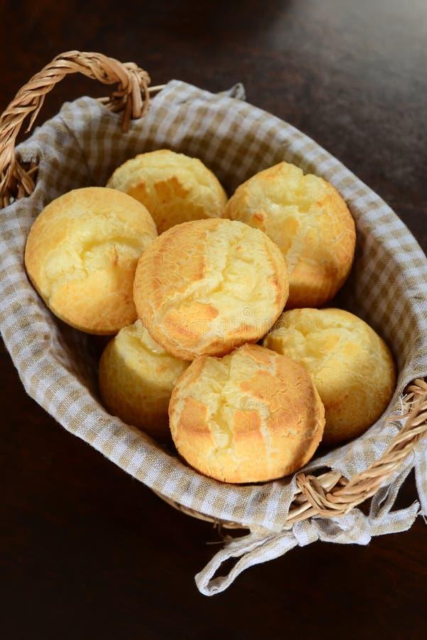 乳酪面包 库存图片