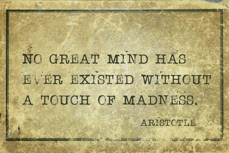 了不起的头脑亚里斯多德 免版税库存照片