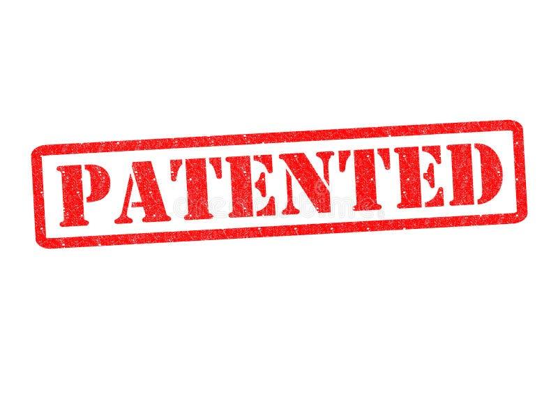 给予专利 库存例证