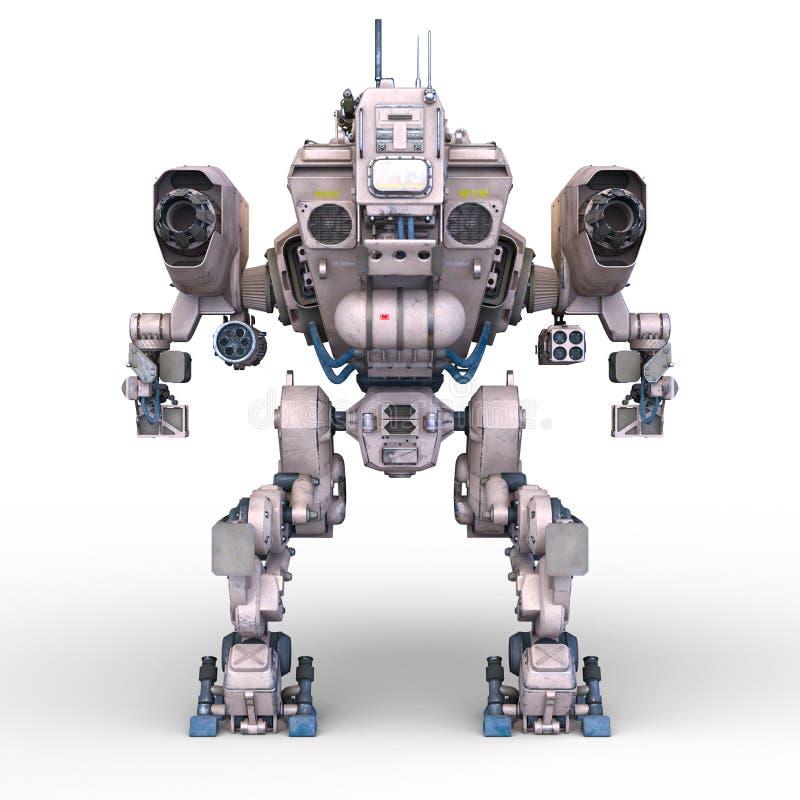 争斗机器人 皇族释放例证