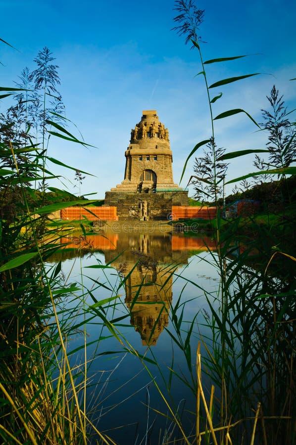 争斗莱比锡纪念碑国家 免版税库存图片