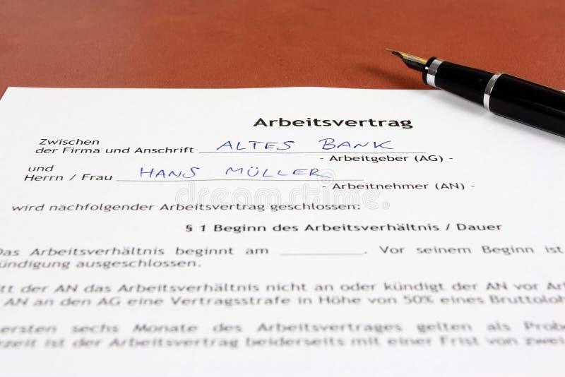 事业在德国 免版税库存照片