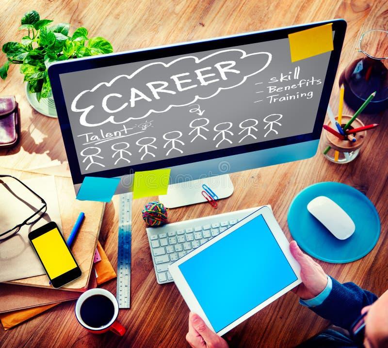 事业天分技巧天分有益于职业概念 库存照片