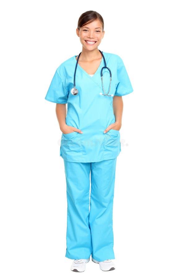 事业护士 免版税库存图片