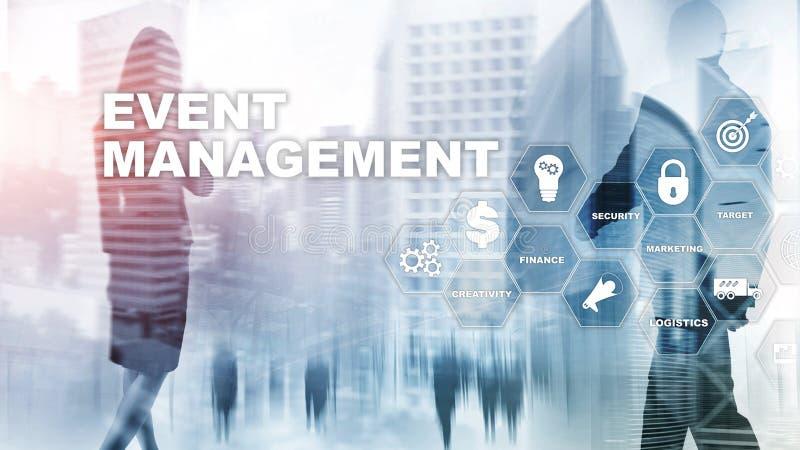 事件管理概念 事件管理流程图 事件管理有关事项 混合画法事务 库存例证