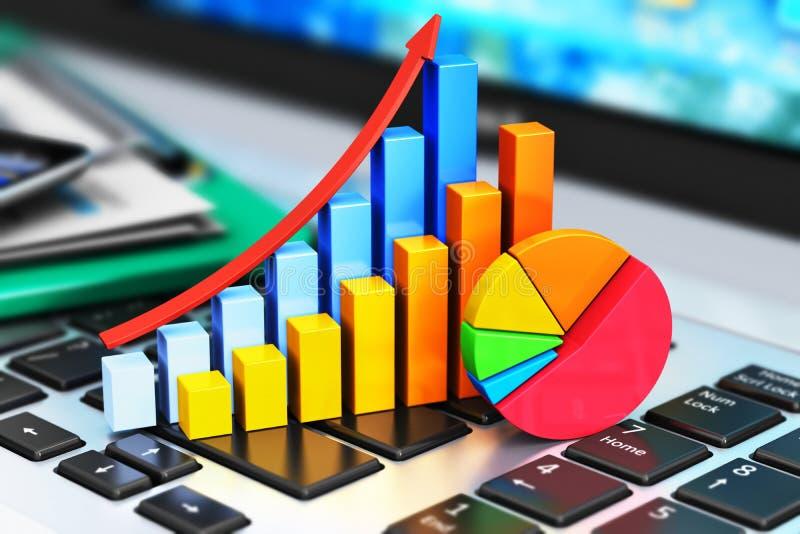 事务、财务和会计概念 库存例证