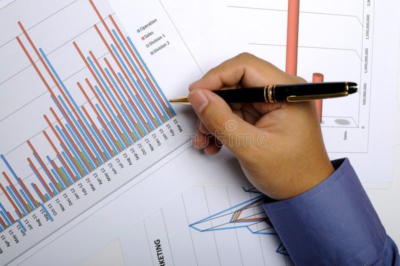 事务和财政概念 免版税库存图片