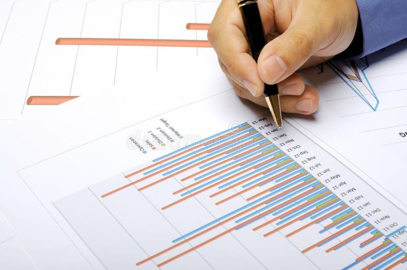 事务和财政概念 免版税库存照片