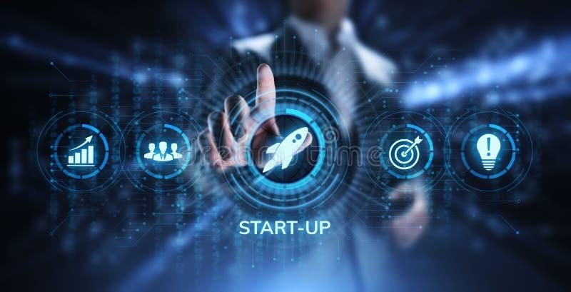事务开始事业投资事务和发展概念 免版税库存图片