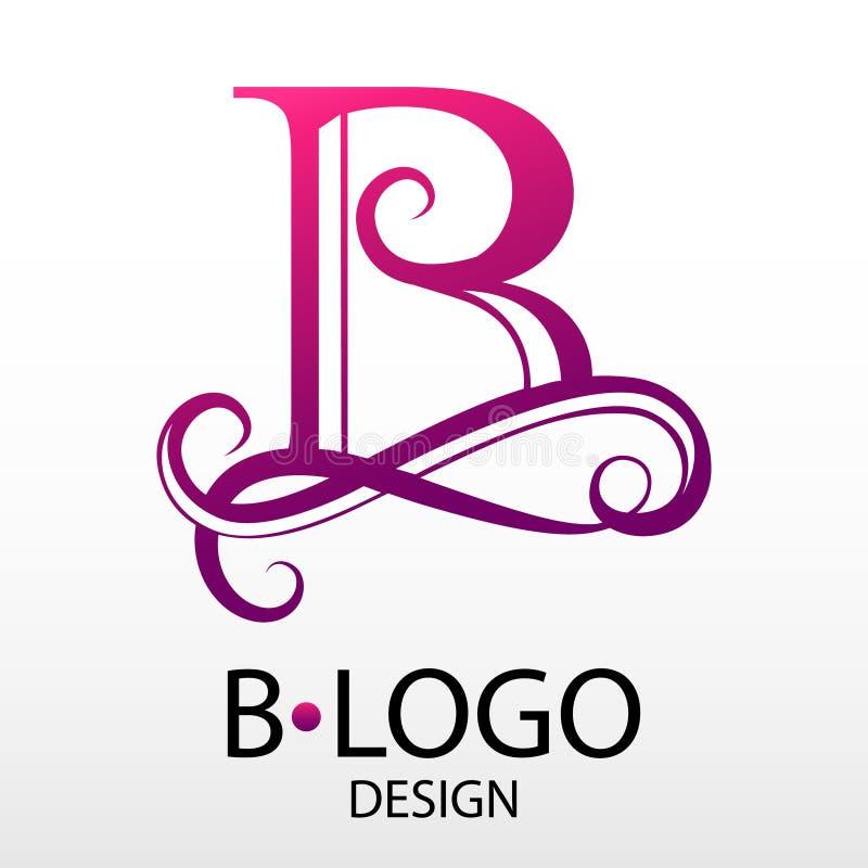 事务的设计现代商标信件组合图案 库存例证