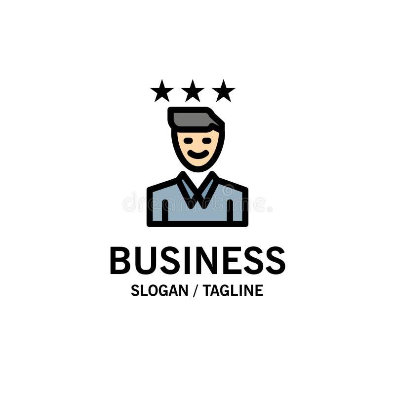 事务,事业,成长,工作,道路企业商标模板 o 库存例证