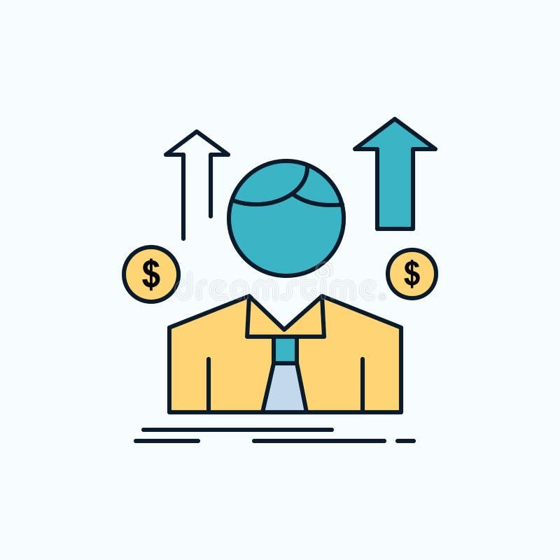 事务,人,具体化,雇员,销售供以人员平的象 r ?? 向量例证