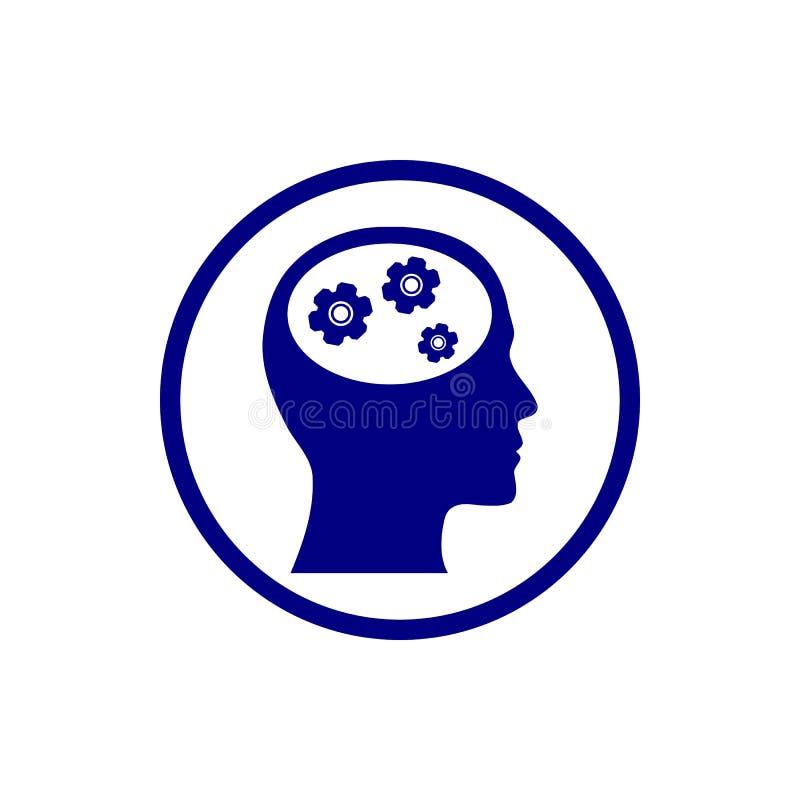 事务,开发,设置,创新,创造性的想法管理水军蓝色颜色象 皇族释放例证
