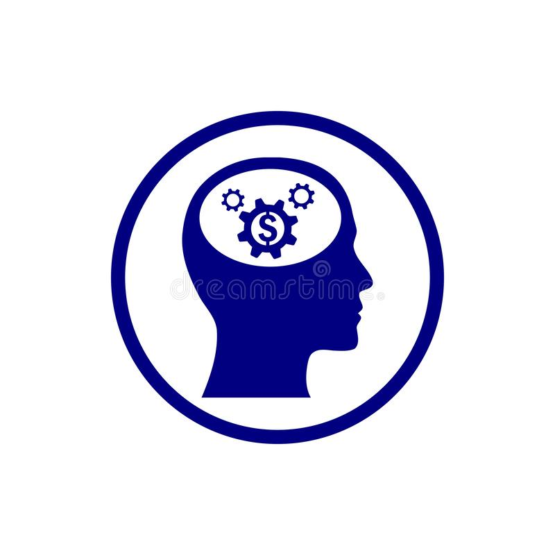 事务,开发,设置,创新,创造性的想法管理水军蓝色颜色象 向量例证