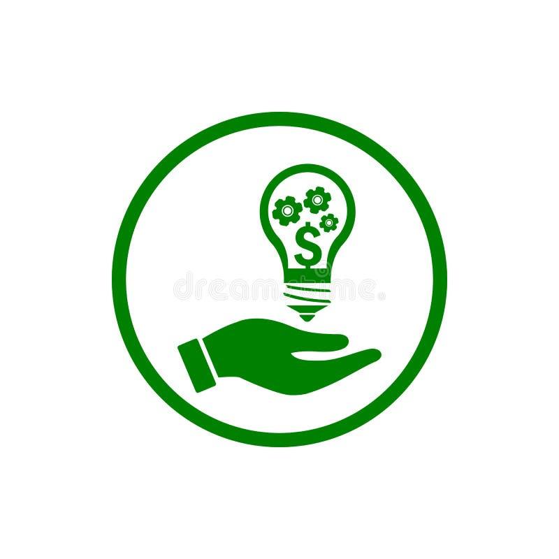 事务,开发,设置,创新,创造性的想法管理绿色象 皇族释放例证