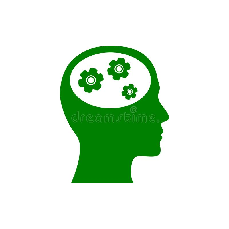 事务,开发,设置,创新,创造性的想法管理绿色象 向量例证