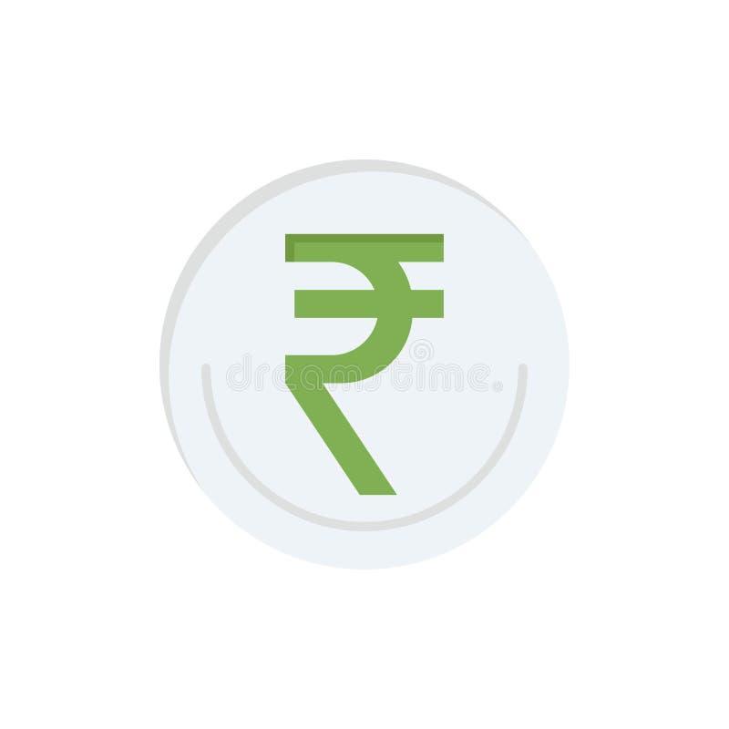 事务,货币,财务,印度人,Inr,卢比,商业平的颜色象 传染媒介象横幅模板 皇族释放例证