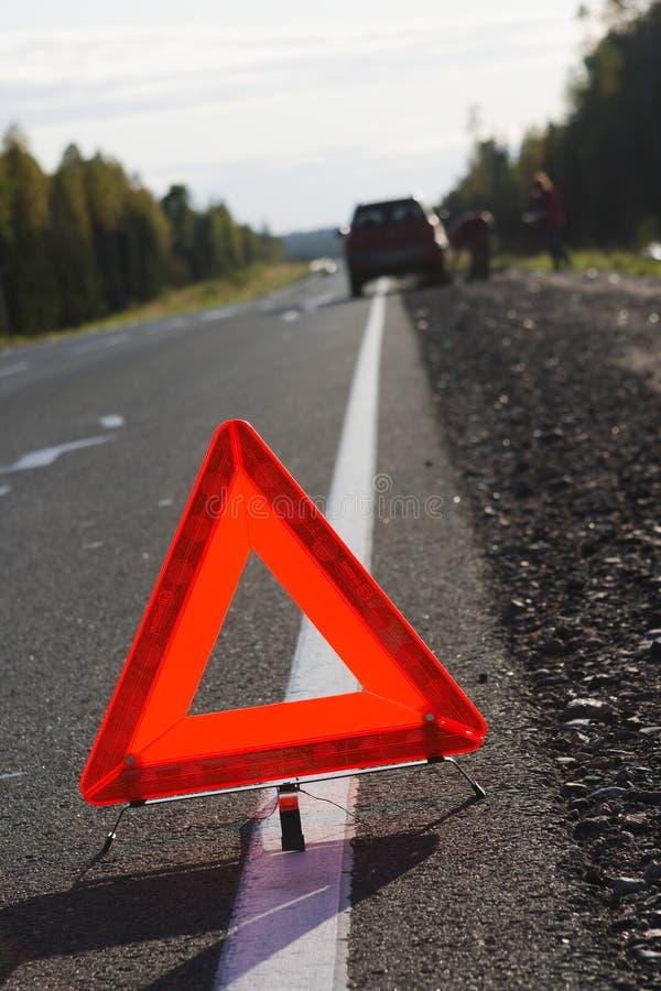 事故注意业务量 免版税库存照片