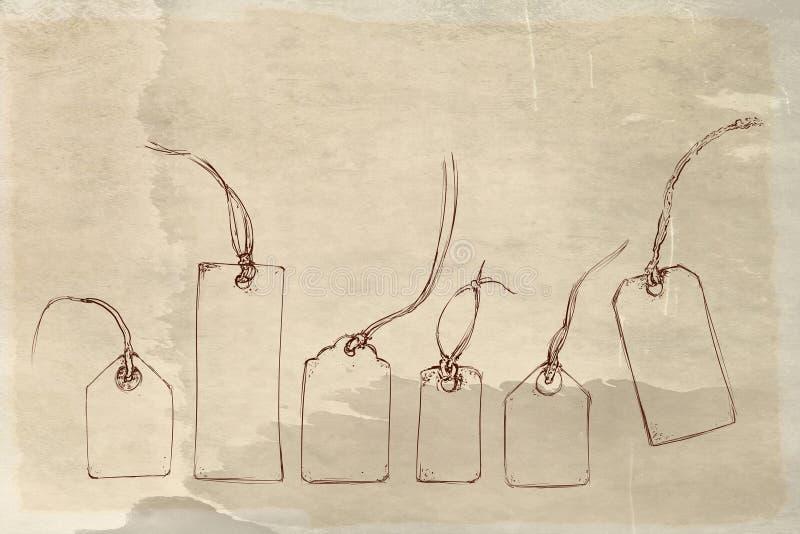 1736/5000事,对象,衣裳,葡萄酒,人,可笑的图象,葡萄酒,动物浅浮雕框架5o有古色古香的基地的年汽车 向量例证