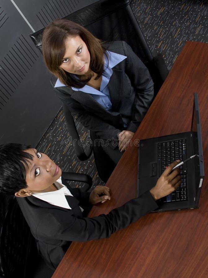二个女性商业 库存图片