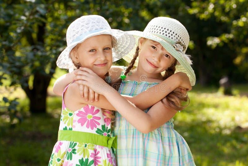 二个女朋友 库存图片