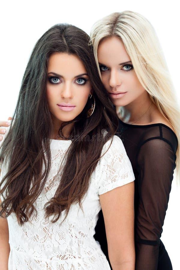 二个女朋友 图库摄影