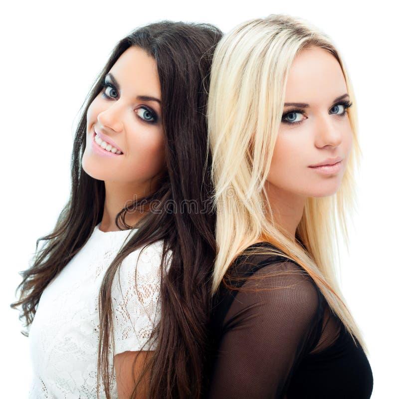 二个女朋友 免版税库存图片