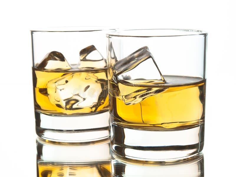 二威士忌酒 免版税库存图片