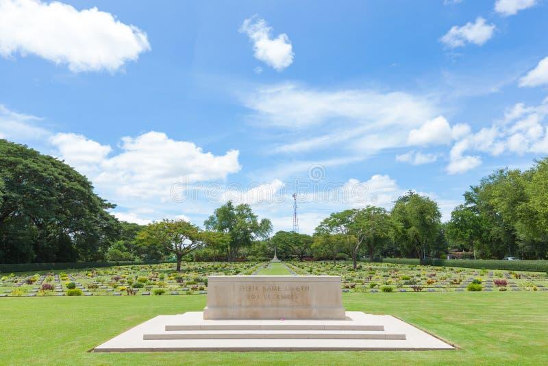 二战的战争公墓 库存图片
