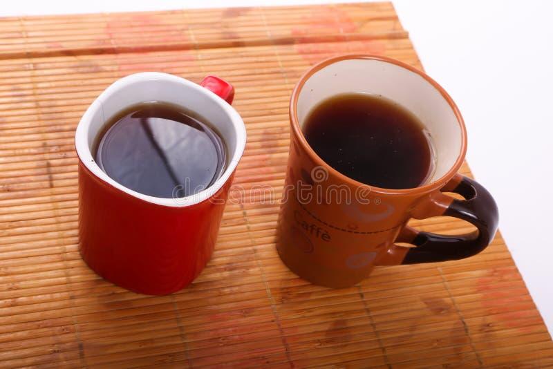二杯茶 库存照片