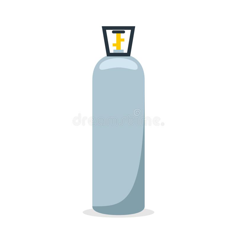 二氧化碳汽油箱象 库存例证