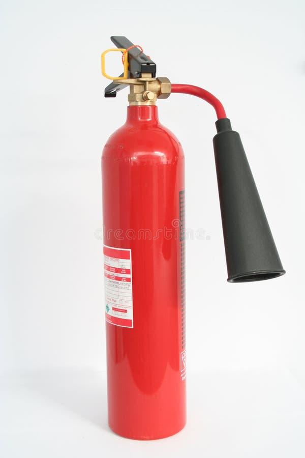 二氧化碳灭火器火 免版税库存图片