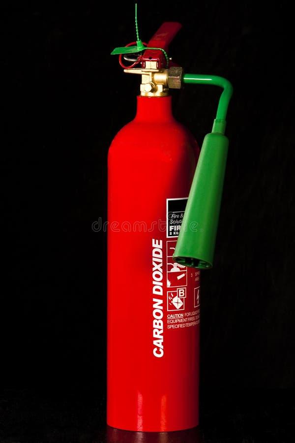 二氧化碳灭火器 免版税库存图片