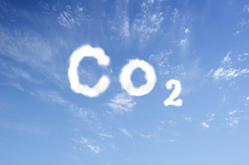 二氧化碳 免版税图库摄影