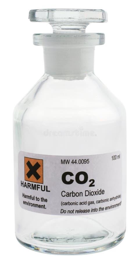 二氧化碳 免版税库存照片
