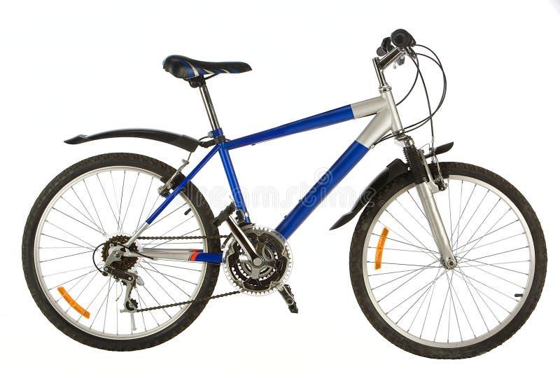 二被转动的自行车 免版税库存照片