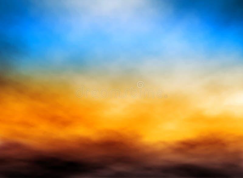 云堤 向量例证