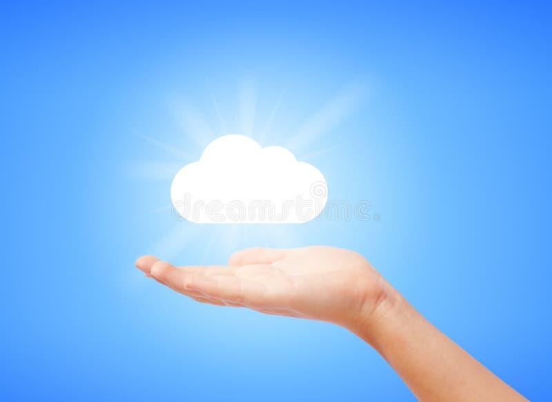 云彩图象 库存例证