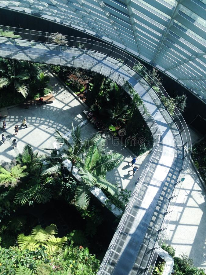 云彩圆顶,新加坡 库存照片