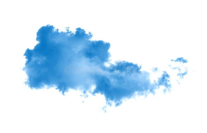 云彩或蓝色烟 免版税库存照片