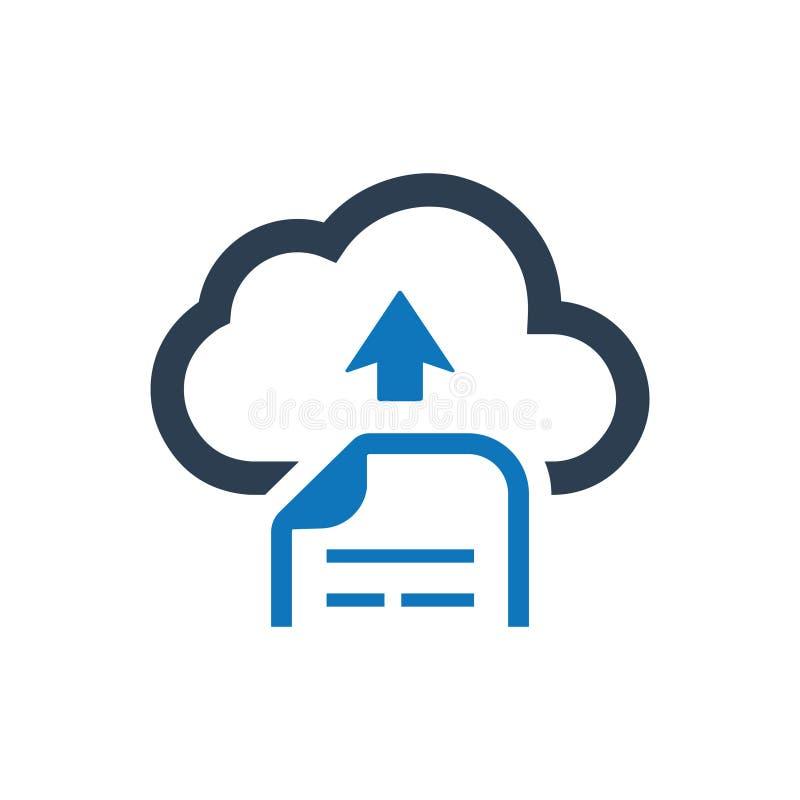 云彩文件加载象 库存例证