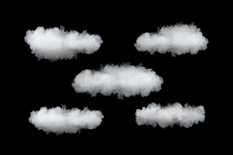 云彩服务模板 免版税库存图片