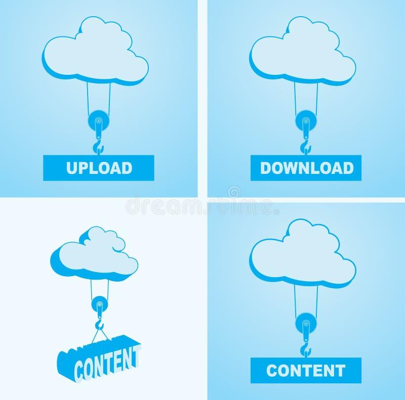 Download 云彩服务 向量例证. 插画 包括有 按钮, 天空, 移动, 驱动器, 互联网, 异常分支, 私有, 推力 - 59101650