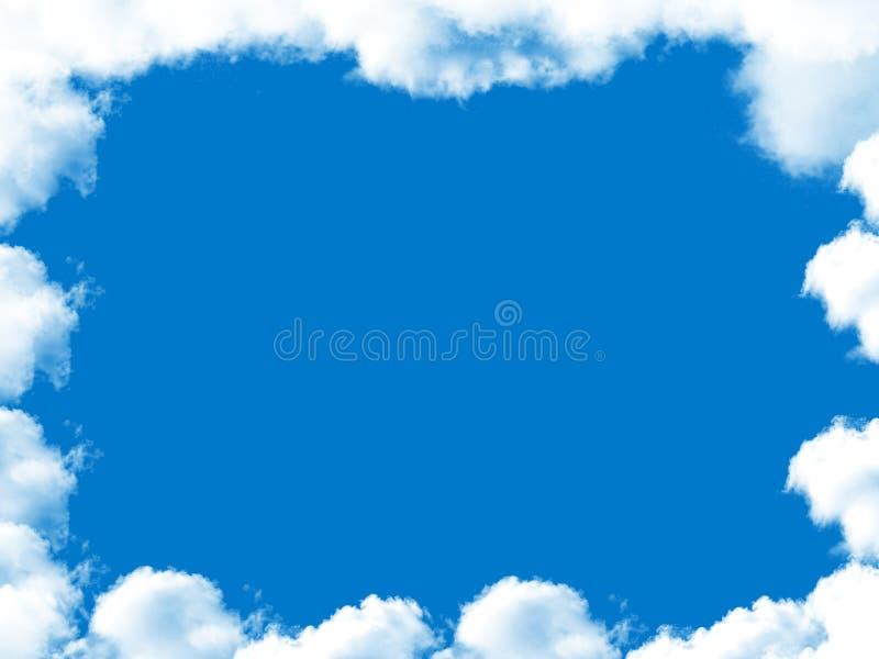 云彩框架 免版税图库摄影