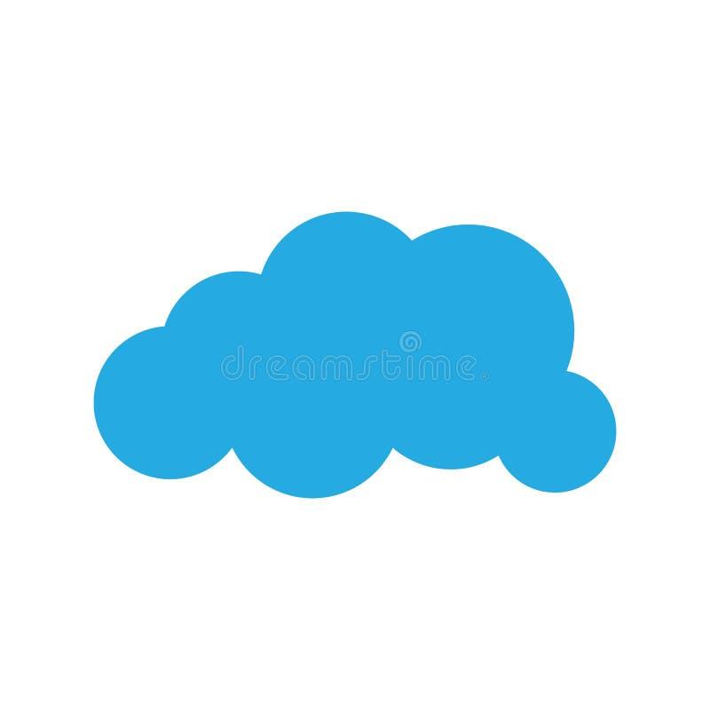 云彩模板传染媒介 皇族释放例证